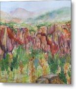 Gunnison Ridge Colorado Metal Print