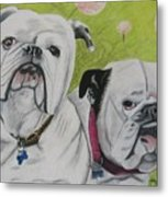 Gus And Olive Metal Print