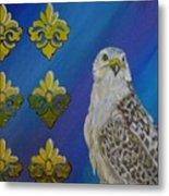 Gyr Falcon Metal Print
