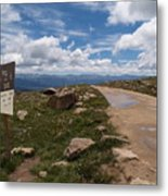 Hagerman Pass View Metal Print