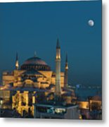 Hagia Sophia Museum Metal Print