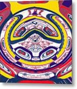 Haida Three Metal Print