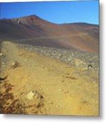 Haleakala Sliding Sands Trail In Volcano Metal Print