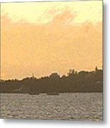 Hamilton Harbour Sunset Metal Print