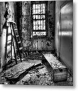 Hammer To Fall Metal Print