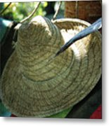 Hammock Greetings Metal Print