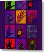 Hands Poster Metal Print by Lydia L Kramer