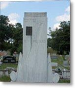 Hank Williams Sr. Headstone Metal Print