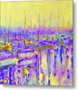 Harbor Sunrise II  Seven Am Metal Print