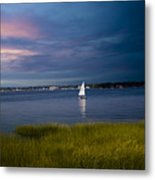 Harborview Sunset Metal Print