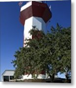 Harbourtown Lighthouse Metal Print