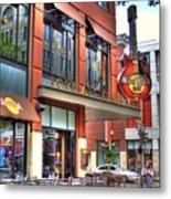 Hard Rock Cafe Denver Metal Print