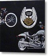 Harley Davidson 105th Anniversary Metal Print