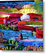 Harmony Of Color And Light Metal Print