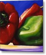 Harvest Festival Peppers Metal Print