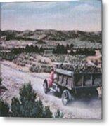 Hauling Uranium Ore 1952 Metal Print