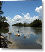 Haulover Canal On The Space Coast Of Florida Metal Print