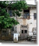 Haunted House In Bulgaria Metal Print