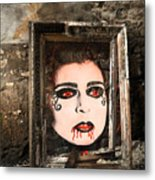 Haunted Picture Metal Print