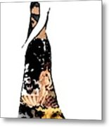 Haute Couture Beauty Metal Print