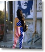 Havana Stars And Stripes Metal Print