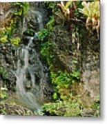 Hawaiian Waterfall Metal Print