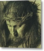 Head Of Christ Metal Print