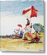 Head  Of The Meadow Beach, Afternoon Metal Print