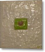 Healing With Green  Metal Print