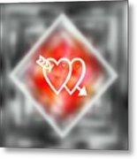 Heart Of Hearts Metal Print