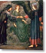 Heart Of The Rose Metal Print by Sir Edward Burne-Jones