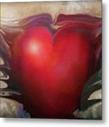 Heart Of The Sunrise Metal Print