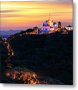 Heavenly Moutain Metal Print