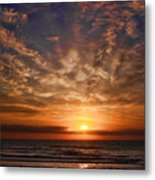 Heavenly Sky Metal Print