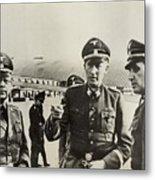 Heindrich Himmler Leftand Heydrich Metal Print