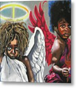 Hells Little Angels Metal Print