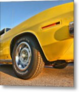 Hemi 'cuda - Ready For Take Off Metal Print