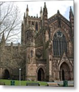 Hereford Cathedral  England Metal Print