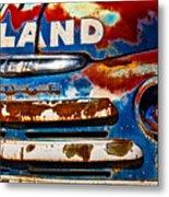 Hi-land Metal Print
