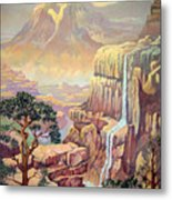 Hidden Southwest Geology  Metal Print
