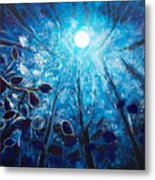 High At Night Metal Print