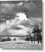 High Prairie Thunderheads Metal Print