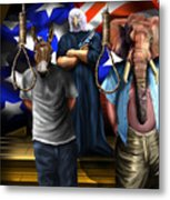 High Treason - State Of The Union-a House Divided1 Metal Print