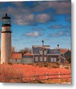 Highland Lighthouse Truro Massachusetts Metal Print
