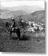Hills Of Guanajuato - Mexico - C 1911 Metal Print