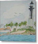 Hillsborough Lighthouse Metal Print