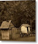 His And Hers Metal Print by Scott Hovind