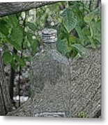 His Last Drink Metal Print