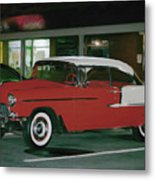 Historic Chevy Metal Print