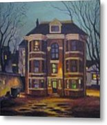Historic Property South End Haifax Metal Print